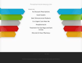 parapharmacie-beauty.com screenshot