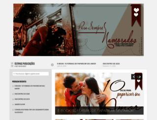 parasemprenamorados.com.br screenshot