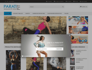 paratifit.com screenshot