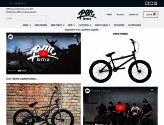 parbmx.com screenshot