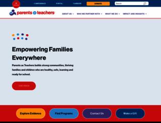 parentsasteachers.org screenshot