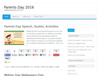 parentsday2016.com screenshot