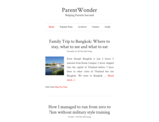parentwonder.com screenshot