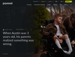 parexel.com screenshot
