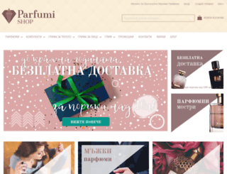 parfumi-shop.net screenshot