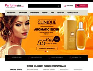 parfumsmoinscher.com screenshot