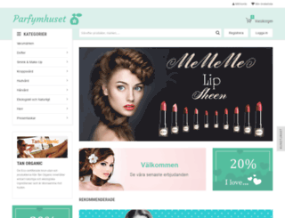 parfymhuset.se screenshot