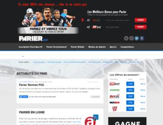 parier.net screenshot