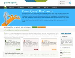parikshaguru.com screenshot