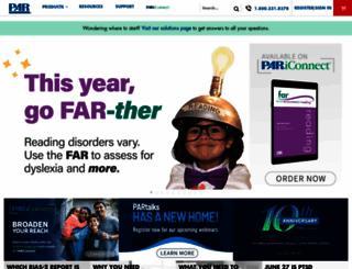 parinc.com screenshot