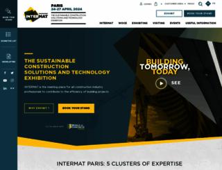 paris-en.intermatconstruction.com screenshot