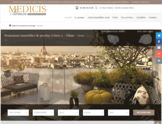 paris-immobilier-prestige.fr screenshot