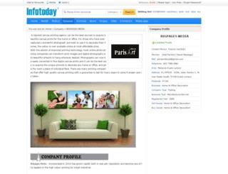 parisartdeco.infotoday.com.my screenshot
