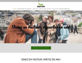 parisgreeters.fr screenshot