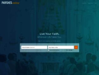 parishesonline.com screenshot