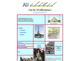 pariswalkabout.com screenshot
