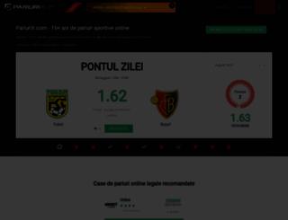 pariurix.com screenshot