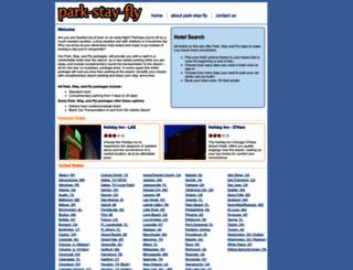 park-stay-fly.com screenshot