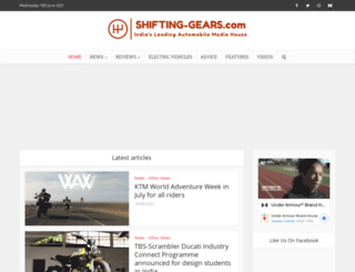 park.shifting-gears.com screenshot