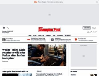 parkeschampionpost.com.au screenshot
