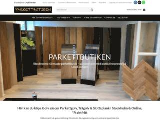 parkettbutiken.se screenshot