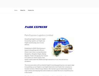 parkexpress.com screenshot