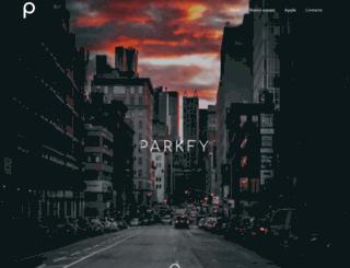 parkfy.com screenshot