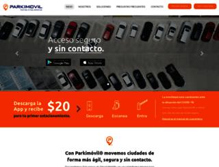 parkimovil.com screenshot