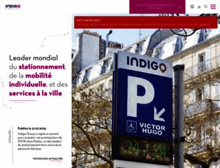 parkindigo.com screenshot