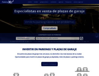 parkingya.es screenshot