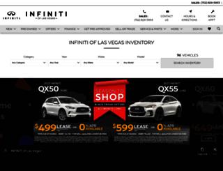 parkplaceinfiniti.com screenshot