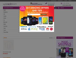 parktelonline.com screenshot