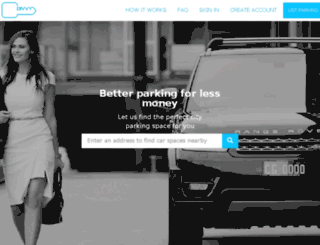 parkwith.divvyparking.com screenshot