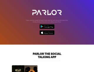 parlor.me screenshot