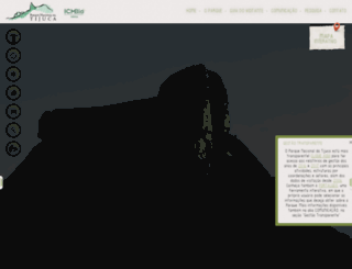 parquedatijuca.com.br screenshot