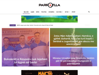 parrotlla.net screenshot
