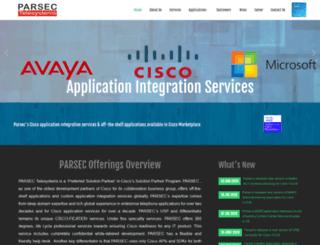 parsec-tech.com screenshot