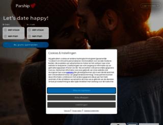parship.nl screenshot