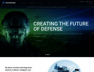 parsons.com screenshot