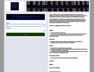 participate.london.edu screenshot