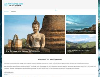 participez.com screenshot