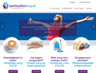 particulierezorg.nl screenshot