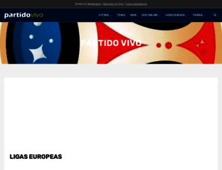 partidovivo.com screenshot
