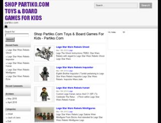 partiko.com screenshot