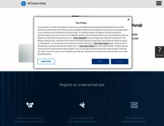 partner.hp.com screenshot