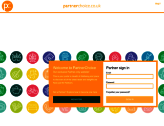 partnerchoice.co.uk screenshot