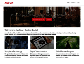 partnernet.xerox.com screenshot