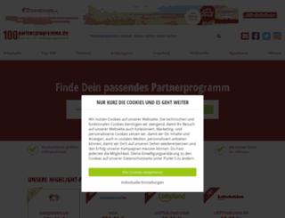 partnerprogramme.de screenshot