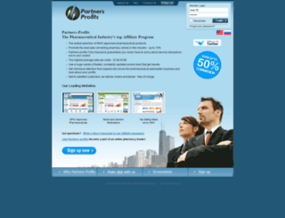 partners-profits.com screenshot