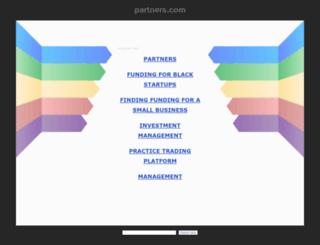 partners.com screenshot